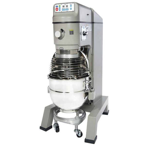 Globe SP62P Gear Driven 60 Qt. Commercial Planetary Floor Pizza Mixer - 220V, 3 hp Main Image 1
