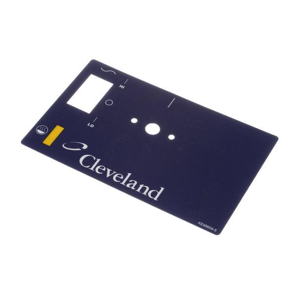 Cleveland KE95604-9 Label;Dual Firing Mt Sglt1