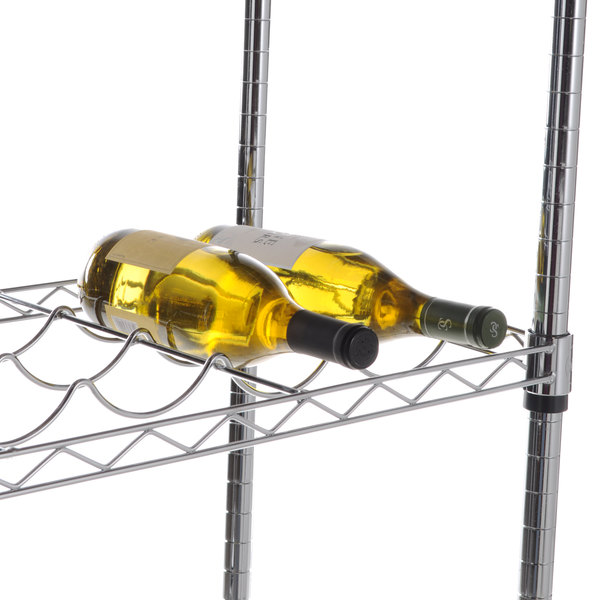 """Regency 14"""" x 48"""" Wire Wine Shelf Main Image 4"""