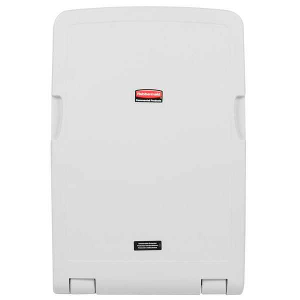 Rubbermaid FG781988LPLAT Vertical Baby Changing Station / Table