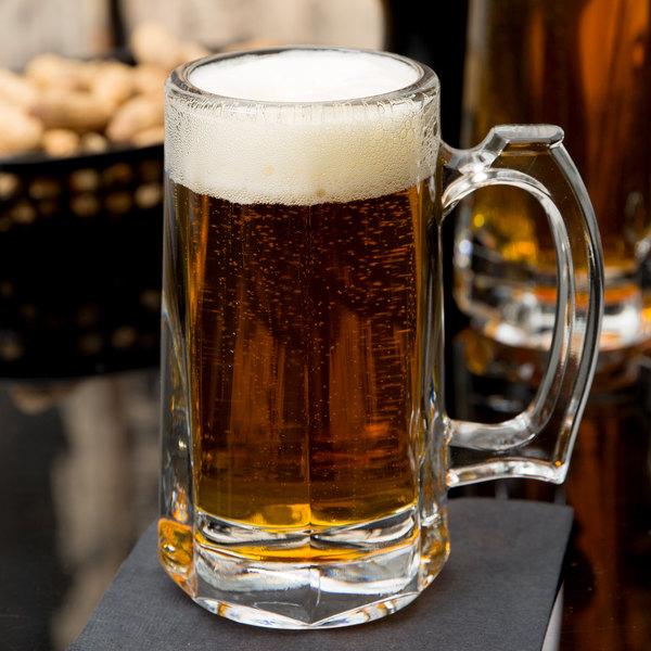 Libbey 5205 10 oz. Beer Mug - 12/Case Main Image 6