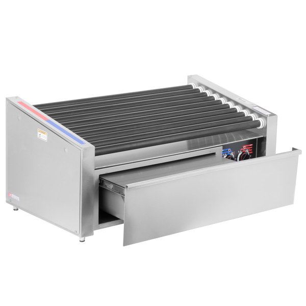 Roller Grill with Bun Warmer
