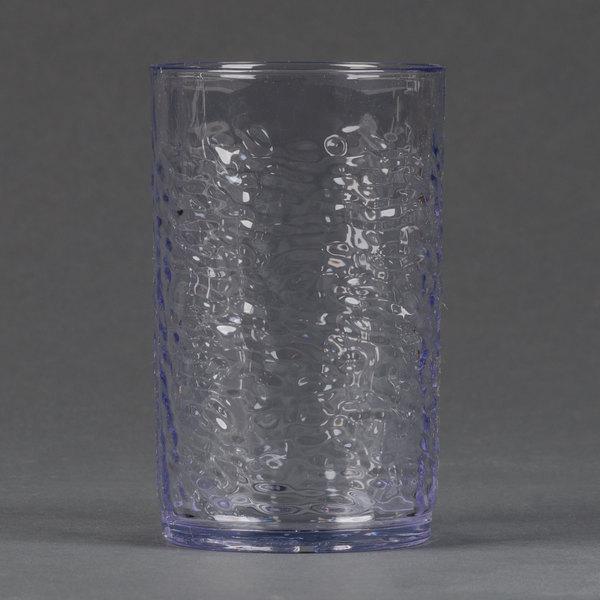 Carlisle 550907 Pebble Optic 9 5 Oz Clear San Plastic Tumbler 24 Case