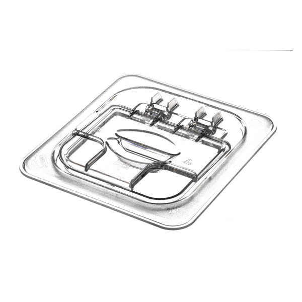 APW Wyott 21701700 Lid, Hngd Plastic For 1/6 Size Pan