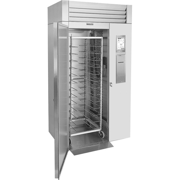 Traulsen TBC1H-34 Spec Line Single Rack Remote Cooled Roll-In Blast Chiller with Combi Oven Compatibility Kit - Left Hinged Door