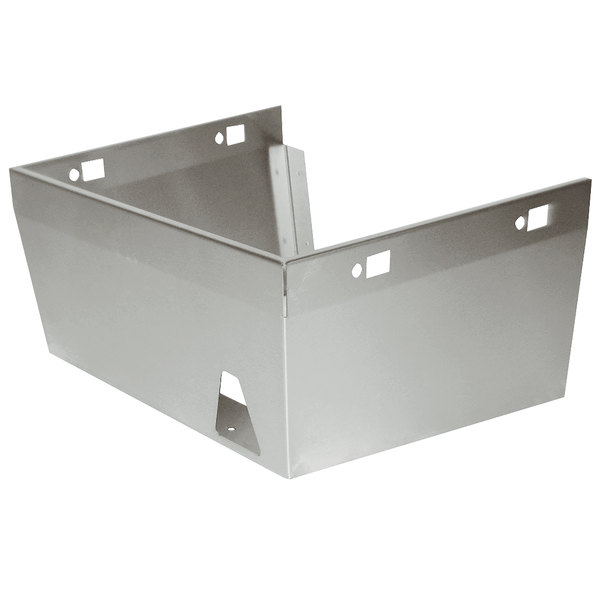 """Advance Tabco 7-PS-31 Skirt Assembly for 10"""" x 14"""" Bowls with Splash Mounted Faucets"""