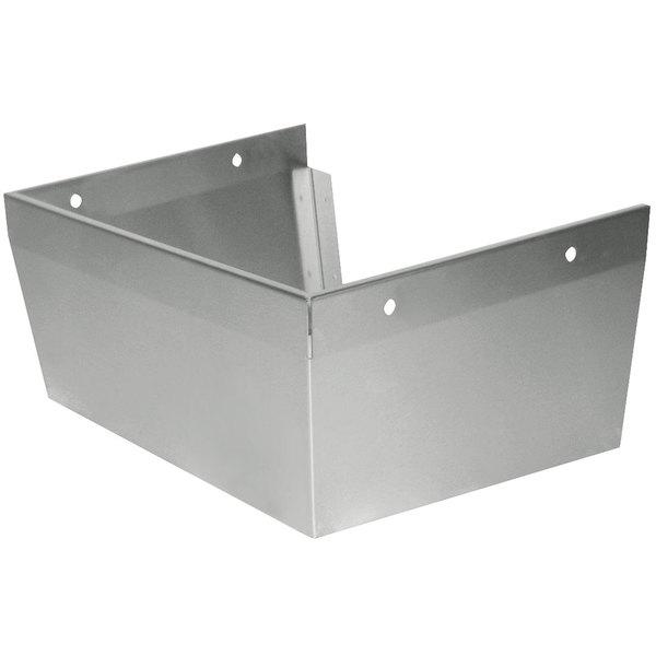 "Advance Tabco 7-PS-31 Skirt Assembly for 10"" x 14"" Bowls with Splash Mounted Faucets Main Image 1"