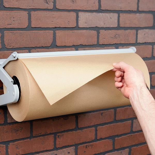 """Bagcraft Papercon 195018 18"""" x 1100' Regular Weight Natural Freezer Paper Roll"""
