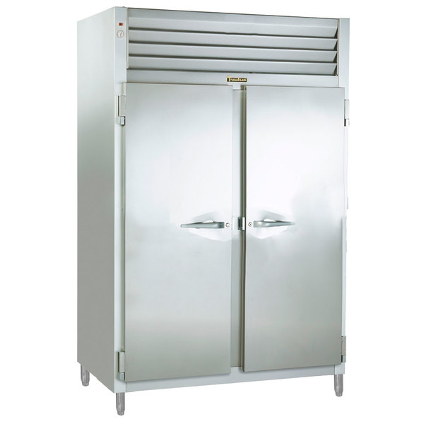 Traulsen RET232NUT-FHS Stainless Steel Two Section Even Thaw Reach In Refrigerator - Specification Line Main Image 1