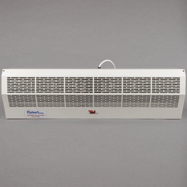Curtron Air-Pro PC 36 inch Air-Pro White Powder Coated Air Curtain - 120V