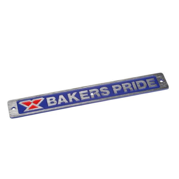 Bakers Pride U1043X Name Plate