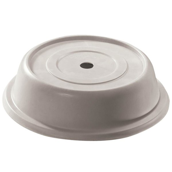 """Cambro 86VS380 Versa Camcover 8 1/4"""" Ivory Round Plate Cover - 12/Case"""
