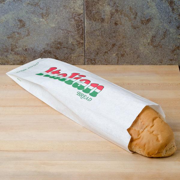 Bagcraft Packaging 300152 Italian Bread Bag - 1000/Case Main Image 3