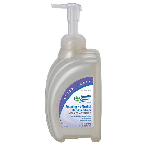Kutol 68278 Health Guard 32 oz. / 950 mL Foaming Instant Hand Sanitizer Bottle Main Image 1