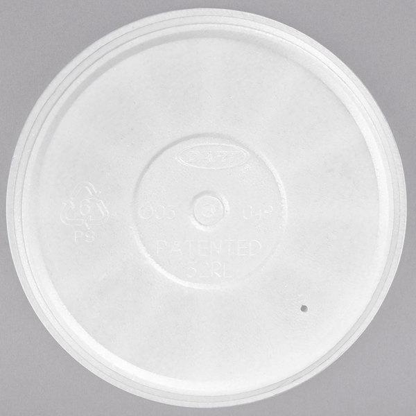 Dart 32RL Foam Vented Lid - 500/Case