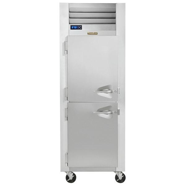 Traulsen G10001 Half Door Reach In Refrigerator - Left Hinged Doors Main Image 1