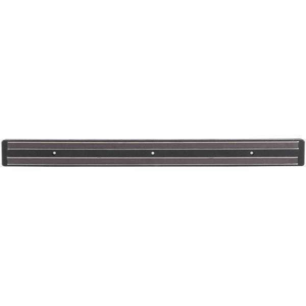 18 inch Black Magnetic Knife Holder / Strip with Hooks