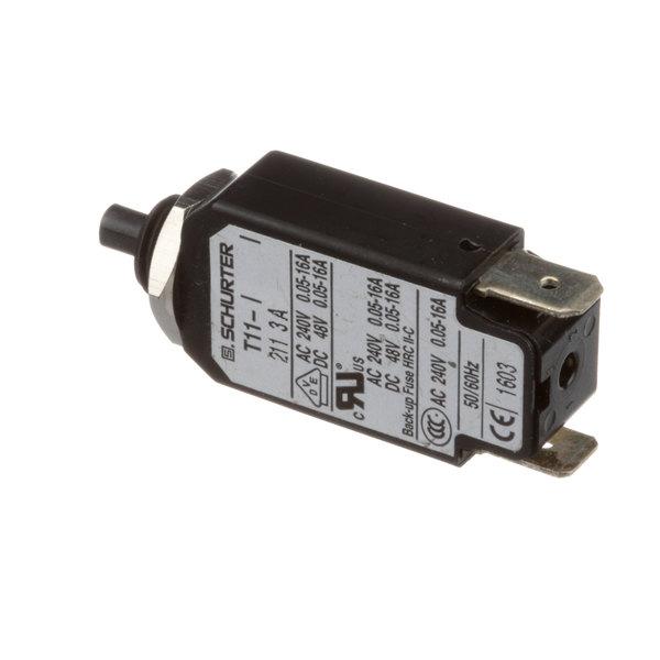 Middleby Marshall 45036 Circuit Breaker, 3 Amp
