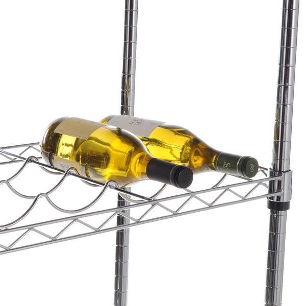 """Regency 14"""" x 36"""" Wire Wine Shelf Main Image 4"""