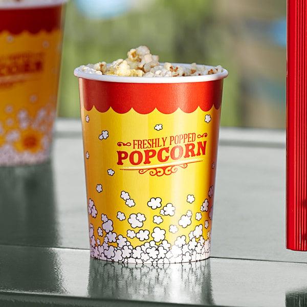 Carnival King 32 oz. Popcorn Cup - 50/Pack Main Image 2