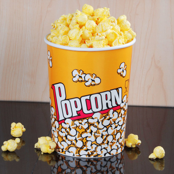 Carnival King 32 oz. Popcorn Cup - 50/Pack