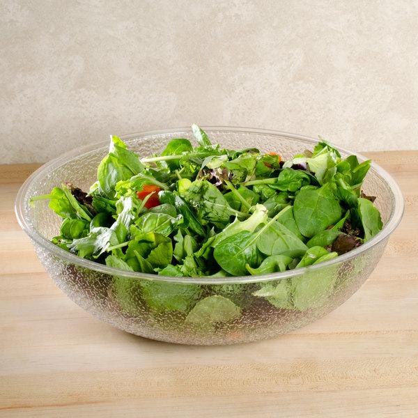 Cambro PSB12176 5.8 Qt. Pebbled Serving/Salad Bowl