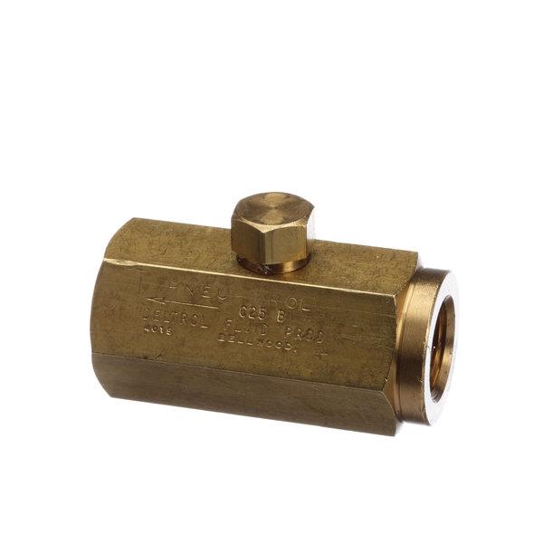 Pitco PP10726 Valve, Check 3/8 Ball Brass