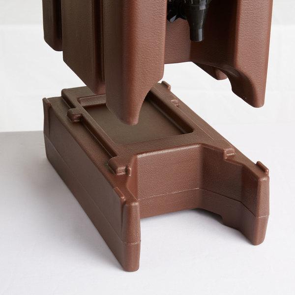 Cambro R500LCD131 Dark Brown Riser for Cambro Insulated Beverage Dispenser