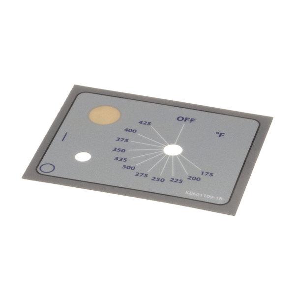 Cleveland KE601109-1 Label; Fahrenheit Dial Set15