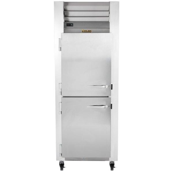 Traulsen G12001 Half Door Reach In Freezer - Left Hinged Doors