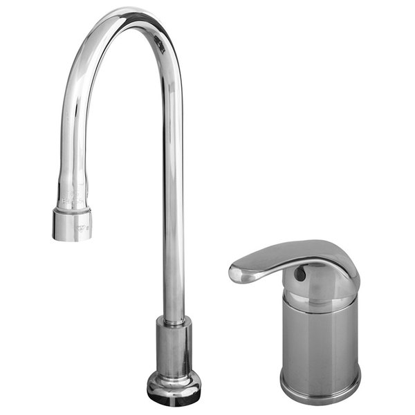 B-2741 Single Lever Faucet with Remote On/Off Control Base, Rigid ...