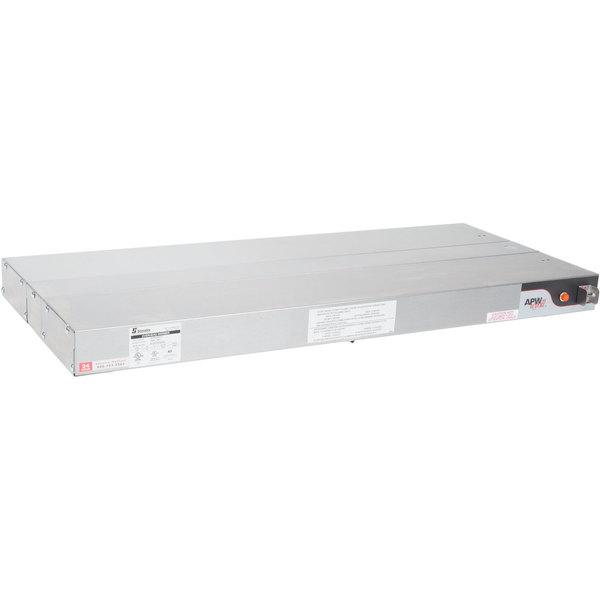 "APW Wyott FDL-66L-T 66"" Lighted Calrod Food Warmer with Toggle Controls - 240V, 1400W"