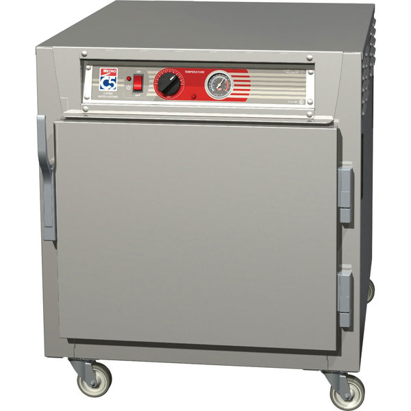 Metro C563L-SFS-L C5 6 Series Under Counter Reach-In Heated Holding Cabinet - Solid Doors Main Image 1