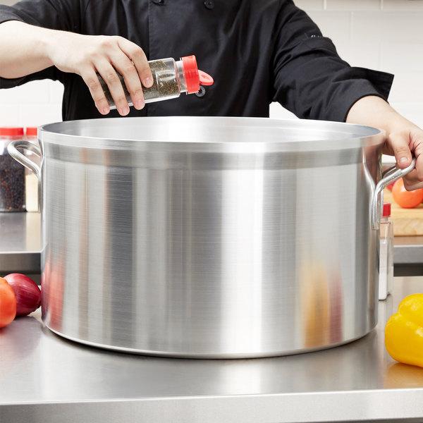 Vollrath 68460 Wear-Ever Classic Select 60 Qt. Heavy Duty Aluminum Sauce Pot