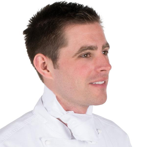 """37"""" x 14"""" White Chef Neckerchief / Bandana"""