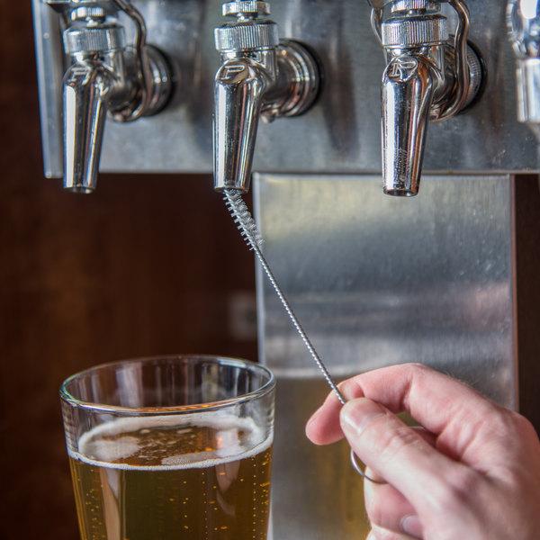 "Carlisle 4015700 Sparta Spectrum Beer Tap Line Cleaning Brush- 1/4"" Bristle Diameter Main Image 4"