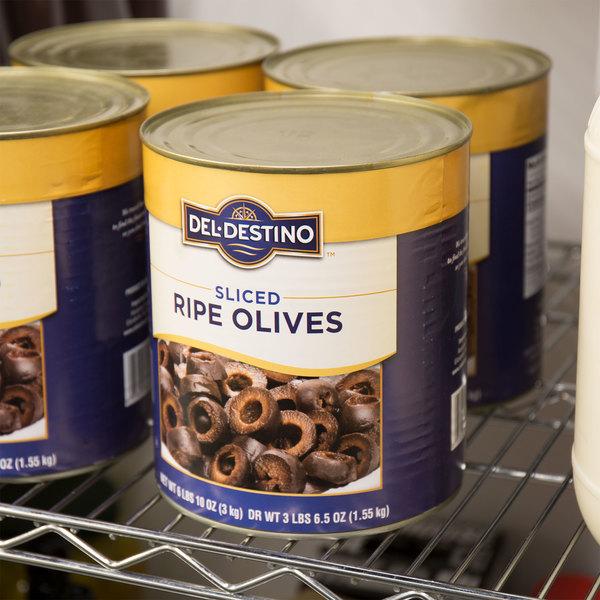 #10 Can Sliced Black Olives
