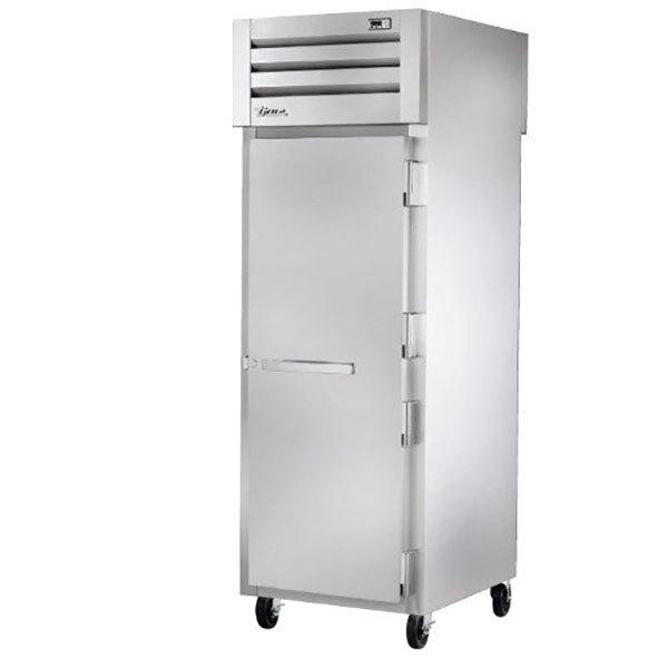 True STR1RPT-1S-1G-HC Specification Series 27 1/2 inch Solid Front, Glass Back Door Pass-Through Refrigerator