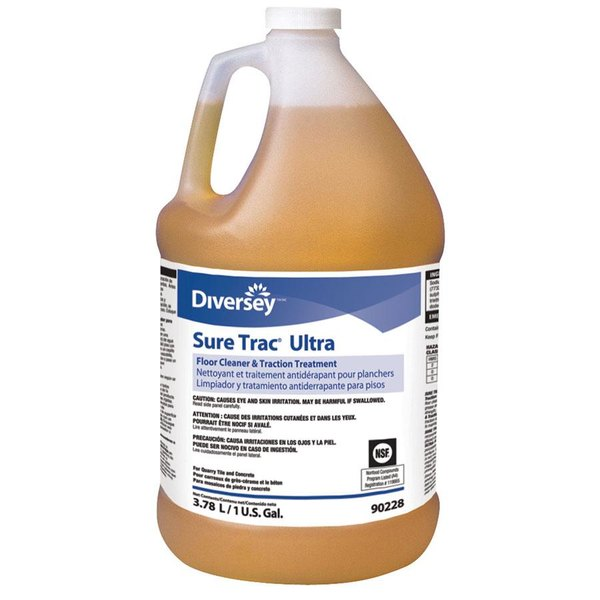 Diversey Sure Trac Ultra 90228 1 gallon / 128 oz. Floor and Tile Cleaner - 2/Case Main Image 1