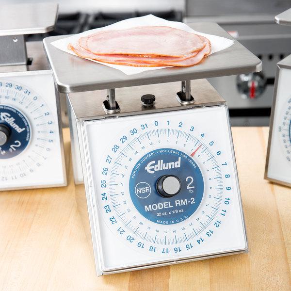 "Edlund RM-2 Four Star 32 oz. Portion Scale with 7"" x 8 3/4"" Platform"