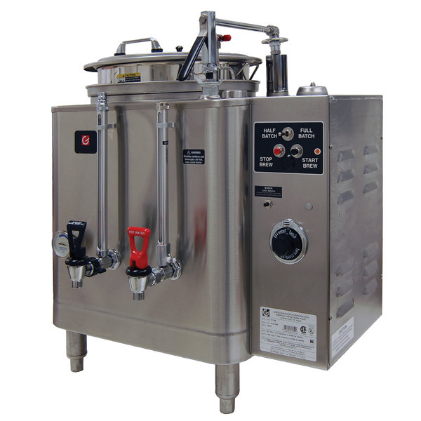 Grindmaster 7713E Single 3 Gallon Automatic Mid Line Coffee Urn - 120/208V, 1 Phase Main Image 1