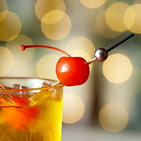 Regal 16 oz. Passion Fruit Maraschino Cherries with Stems Main Image 2
