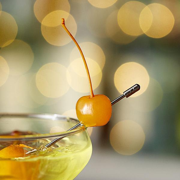 Regal 16 oz. Yellow Maraschino Cherries with Stems Main Image 2