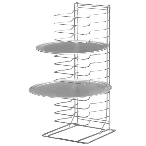 Channel PR-15W 15 Slot Wall Mounted Pizza Pan Rack Main Image 1