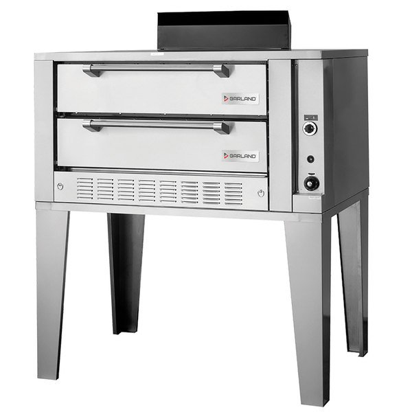 "Garland G2072 Liquid Propane 55 1/4"" Double Deck Gas Pizza Oven - 80,000 BTU Main Image 1"