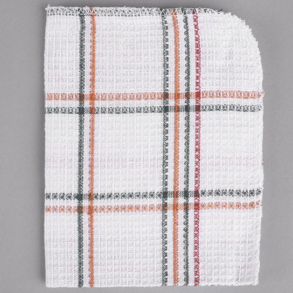 13 X 15 Striped 100 Cotton Waffle Weave Dish Cloth 12 Pack