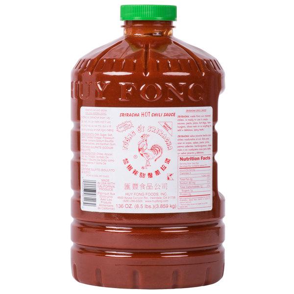 Download Huy Fong Sriracha Hot Chili Sauce 8 5 Lb Container PSD Mockup Templates