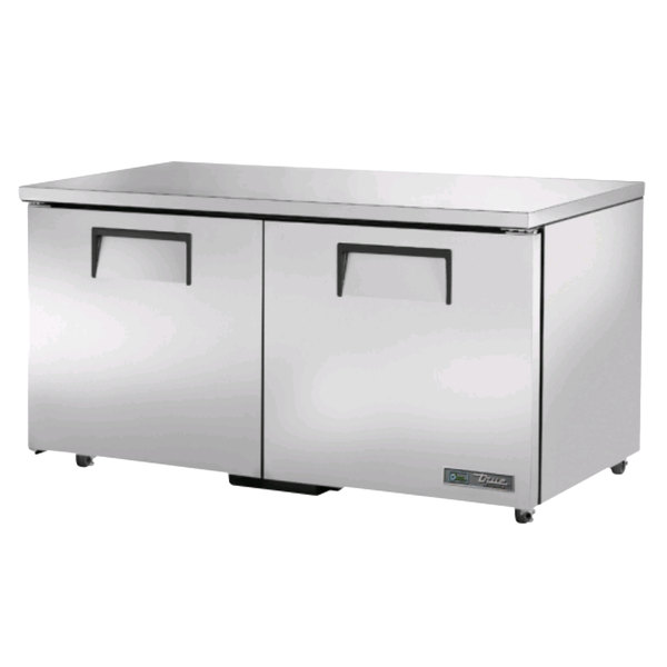 True TUC-60-ADA-HC 60 inch ADA Height Undercounter Refrigerator