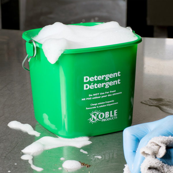 Noble Products 3 Qt. Green Cleaning Pail