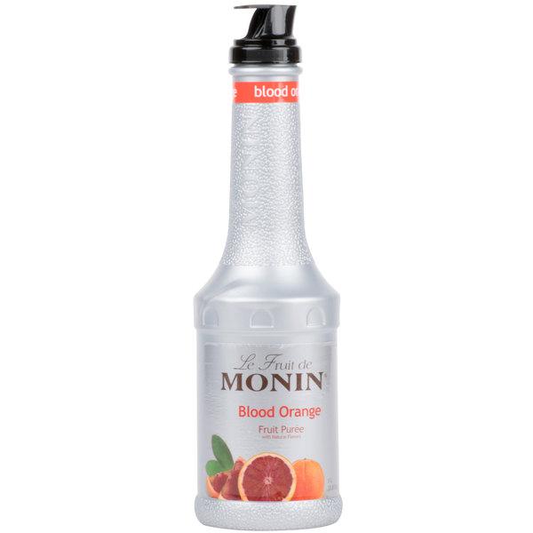 Monin 1 Liter Blood Orange Fruit Puree